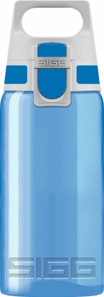 Trinkflasche VIVA ONE Blue[0.5 L]. inkl. 1-farbigen Druck
