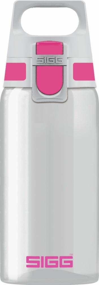 Trinkflasche Total Clear ONE Berry [0.5 L]. inkl. 1-farbigen Druck