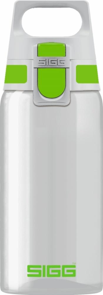Trinkflasche Total Clear ONE Green [0.5 L]. inkl. 1-farbigen Druck