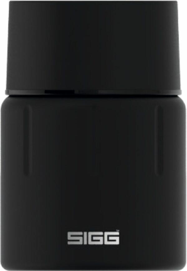 Isolierter Essbehälter Gemstone Food Jar Obsidian [0.5 L]. inkl. Gravur