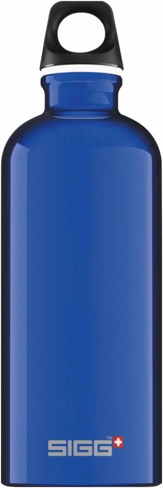 Trinkflasche Traveller Dark Blue [0.6 L]. inkl. 1-farbigen Druck