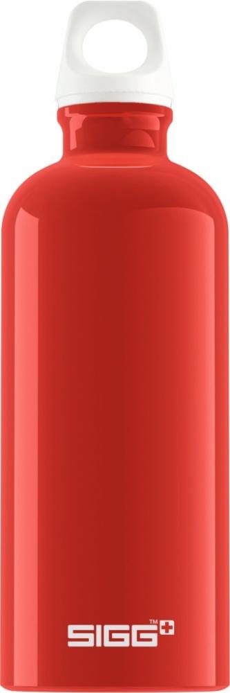 Trinkflasche Fabulous Red [0.6 L]. inkl. 1-farbigen Druck
