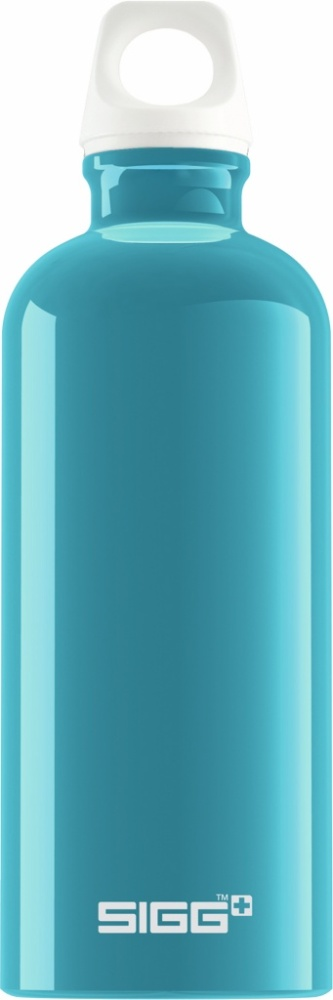Trinkflasche Fabulous Aqua [0.6 L]. inkl. 1-farbigen Druck
