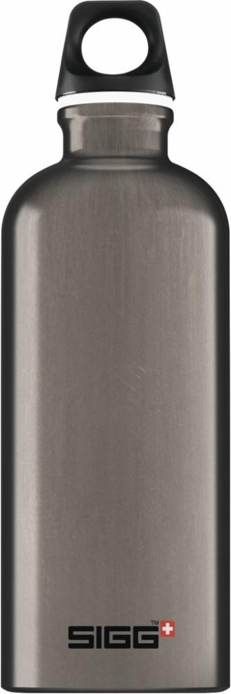 Trinkflasche Traveller Smoked Pearl [0.6 L]. inkl. 1-farbigen Druck