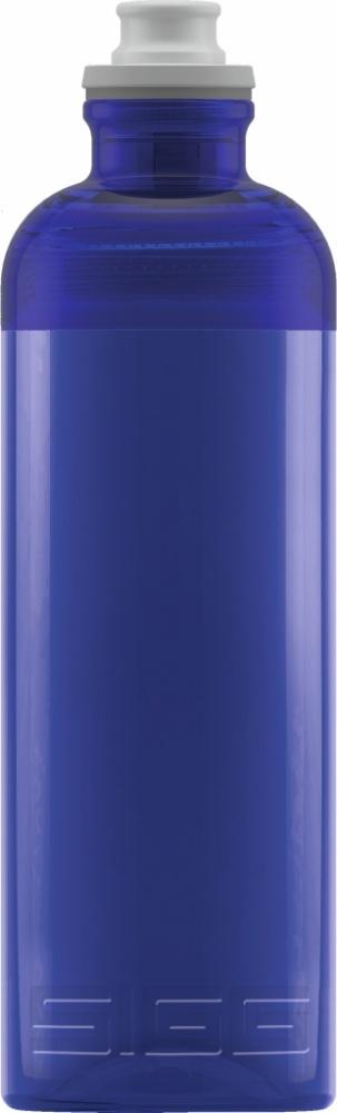 Trinkflasche Feel Blue [0.6 L]. inkl. 1-farbigen Druck