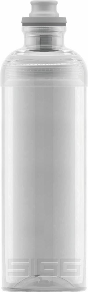 Trinkflasche Feel Transparent [0.6 L]. inkl. 1-farbigen Druck