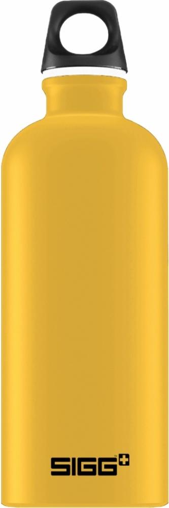 Trinkflasche Traveller Mustard Touch [0.6 L]. inkl. 1-farbigen Druck