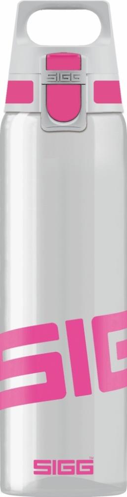 Trinkflasche Total Clear ONE Berry [0.75 L]. inkl. 1-farbigen Druck