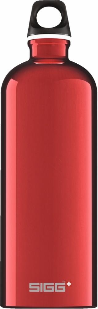 Trinkflasche Traveller Red [1.0 L]. inkl. 1-farbigen Druck