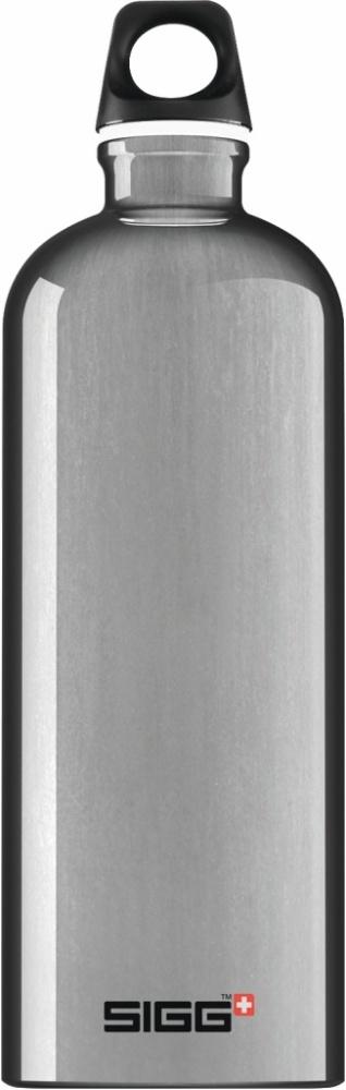 Trinkflasche Traveller Alu [1.0 L]. inkl. 1-farbigen Druck