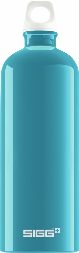 Trinkflasche Fabulous Aqua [1.0 L]. inkl. 1-farbigen Druck