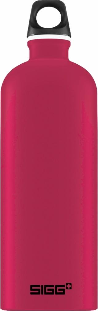 Trinkflasche Traveller Deep Magenta Touch [0.6 L]. inkl. 1-farbigen Druck