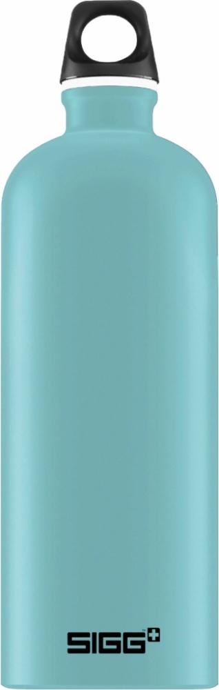 Trinkflasche Traveller Denim touch [1.0 L]. inkl. 1-farbigen Druck