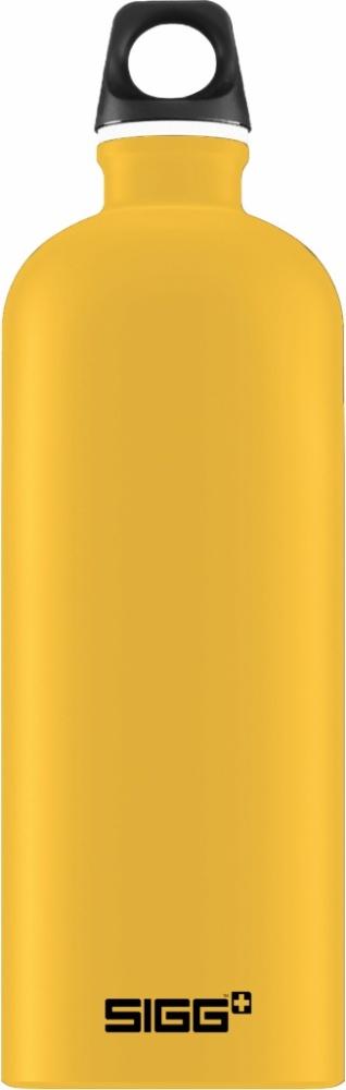 Trinkflasche Traveller Mustard Touch [1.0 L]. inkl. 1-farbigen Druck