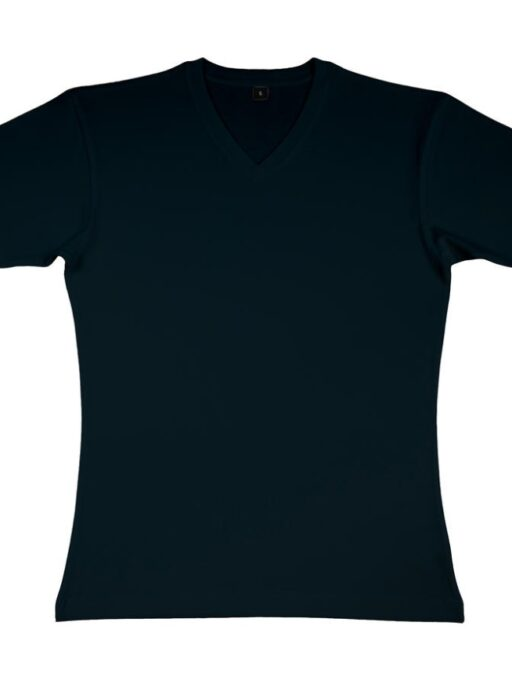 James Men`s Organic V-Neck T-Shirt