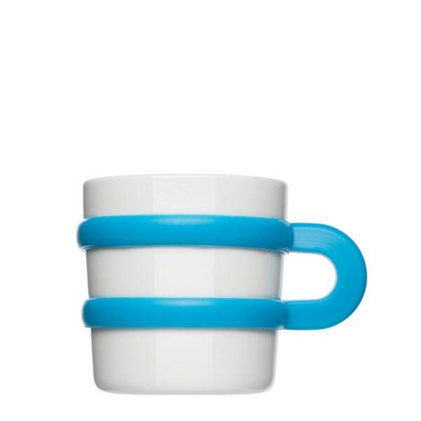 Tasse mit Silikonhenkel groß Form 281