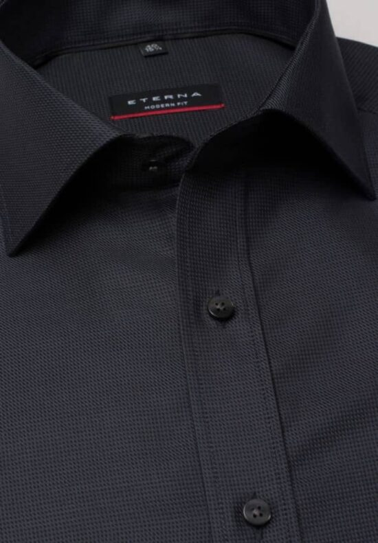 ETERNA-Hemden-Langarm (Standard)-MODERN FIT-OHNE BRUSTTASCHE
