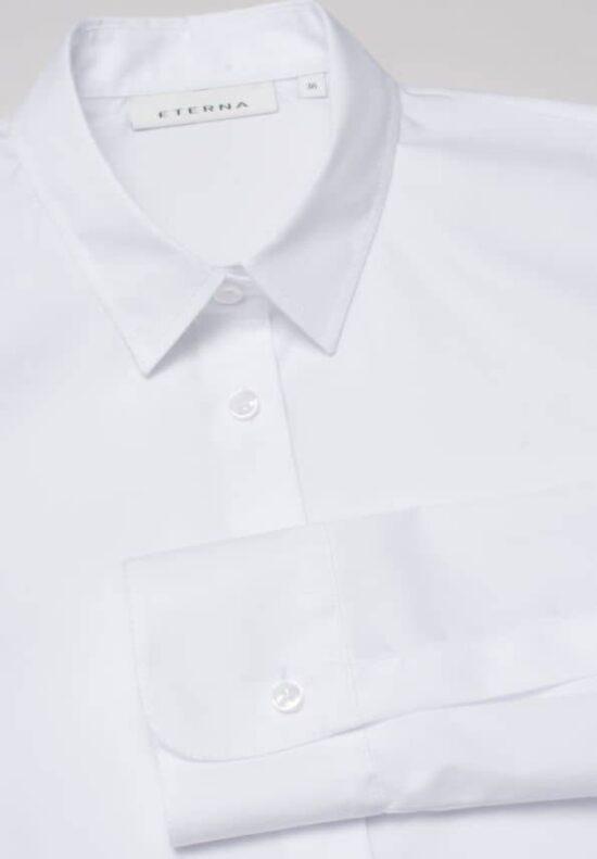 ETERNA-Bluse-Langarm (Standard)-TAILLIERT-OHNE BRUSTTASCHE