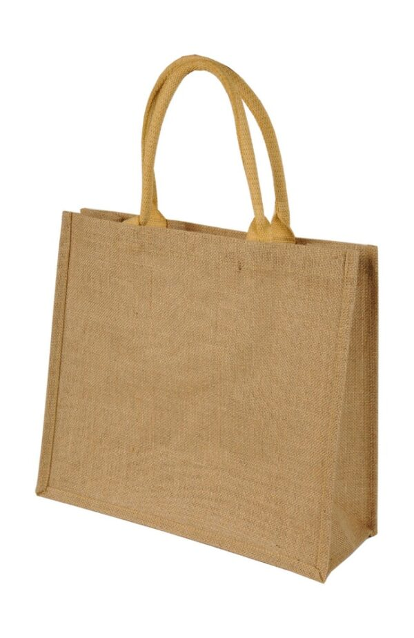 Chennai Short Handled Jute Shopper Bag