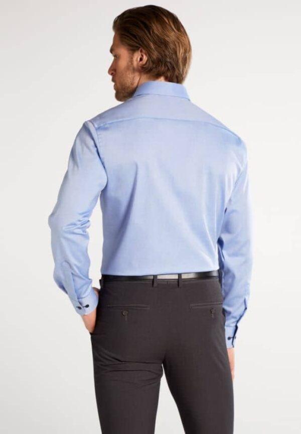 ETERNA-Hemden-Langarm (verlängert 68cm)-MODERN FIT-OHNE BRUSTTASCHE