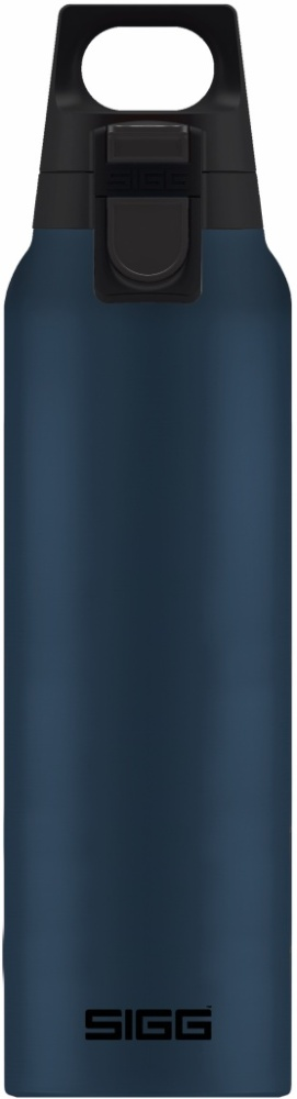 Iso-Trinkflasche Hot &Cold One Hand Dark [0.5 L]. inkl. 1-farbigen Druck