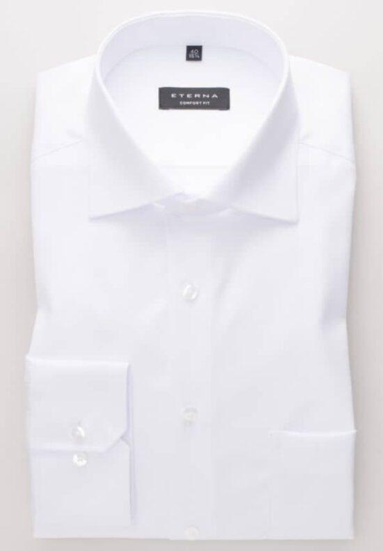 ETERNA-Hemden-Langarm (verkürzt 59cm)-COMFORT FIT-MIT BRUSTTASCHE