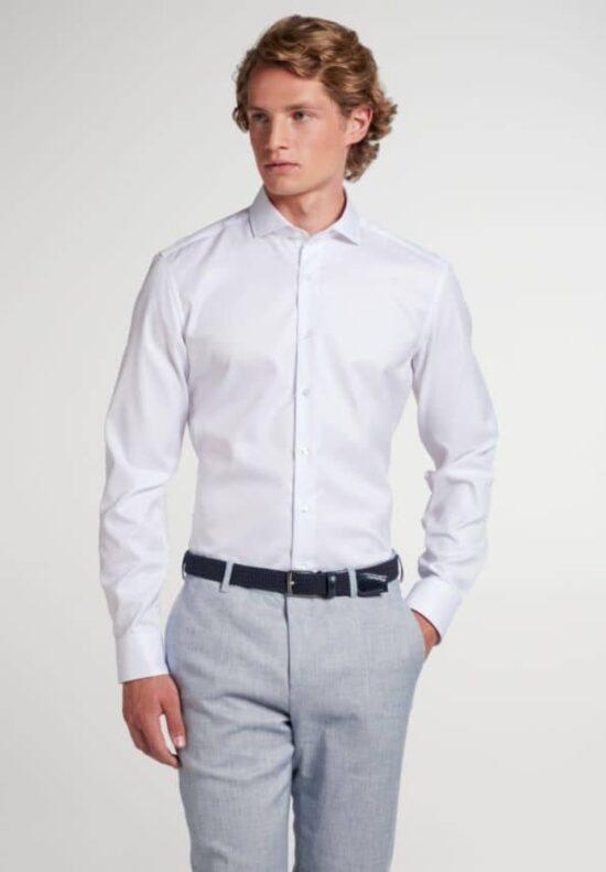 ETERNA-Hemden-Langarm (verlängert 72 cm)-SLIM FIT-OHNE BRUSTTASCHE