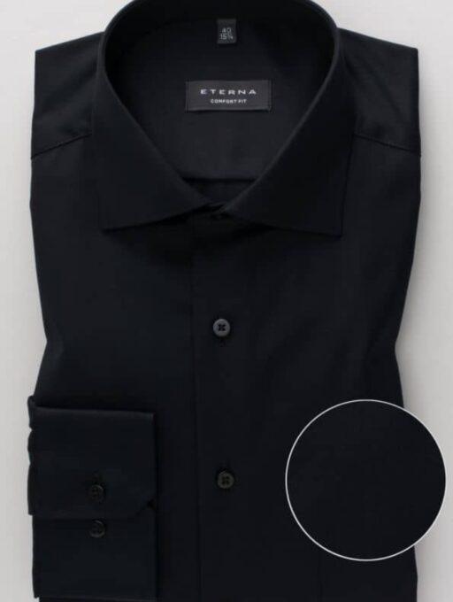 ETERNA-Hemden-Langarm (Standard)-COMFORT FIT-MIT BRUSTTASCHE