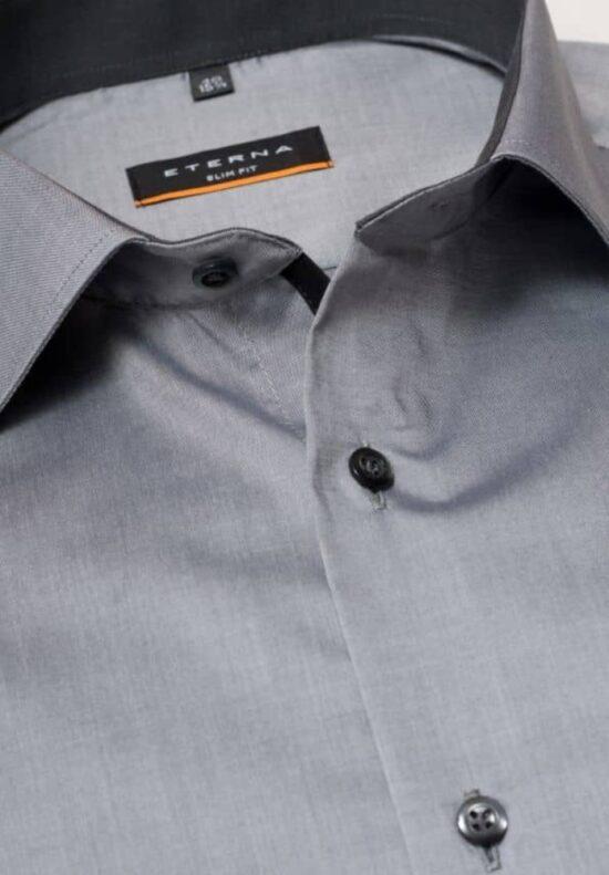 ETERNA-Hemden-Langarm (Standard)-SLIM FIT-OHNE BRUSTTASCHE
