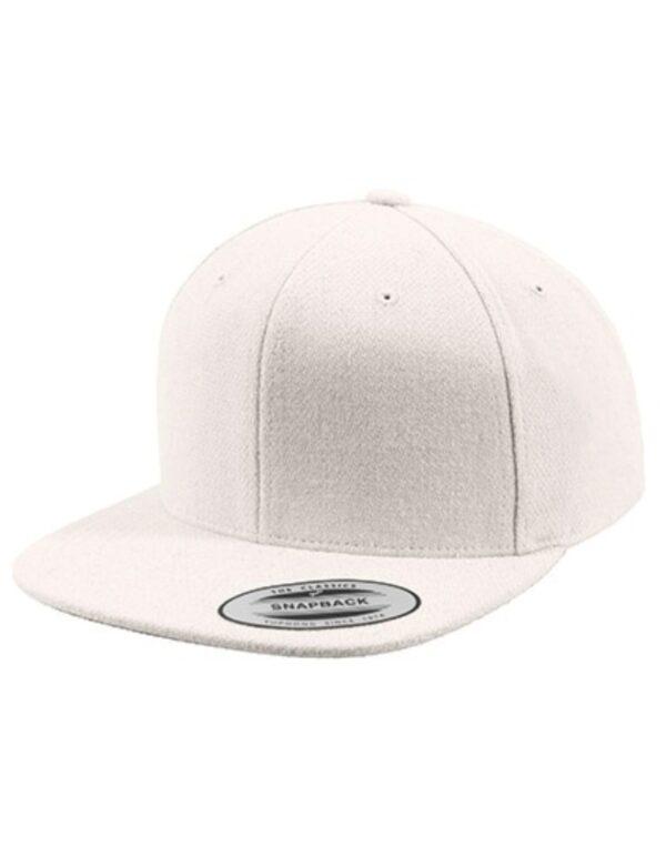 Melton Wool Snapback Cap