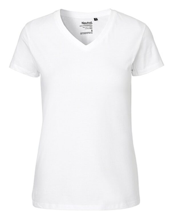Ladies` V-neck T-Shirt
