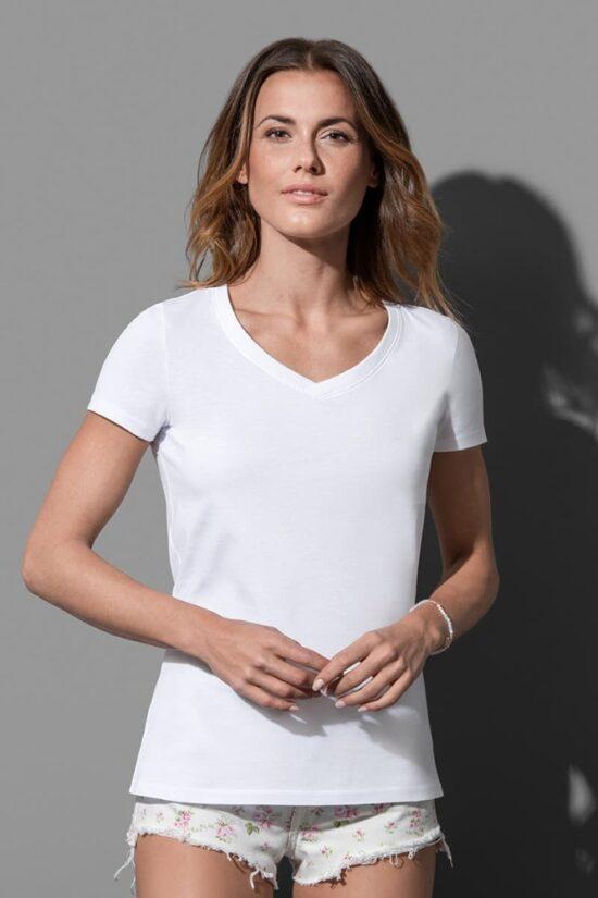 Janet Organic V-neck