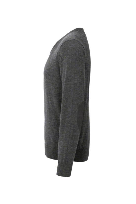 HAKRO V-Pullover Merino-Wool