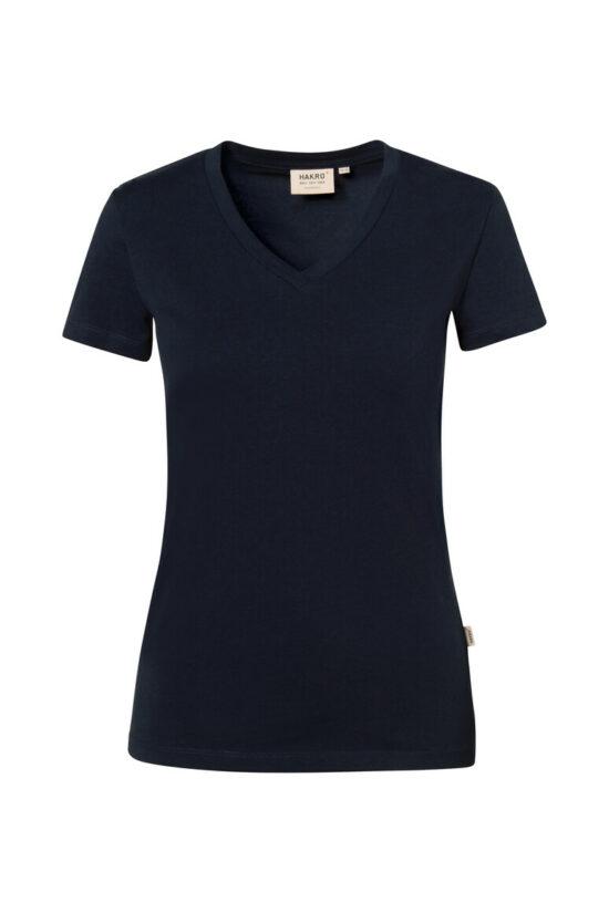 HAKRO Damen V-Shirt Stretch
