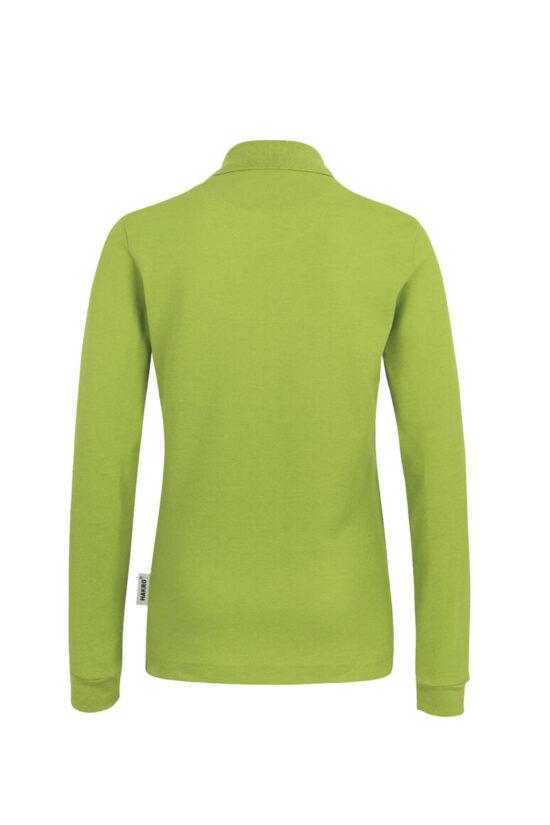 HAKRO Damen Longsleeve-Poloshirt Mikralinar®