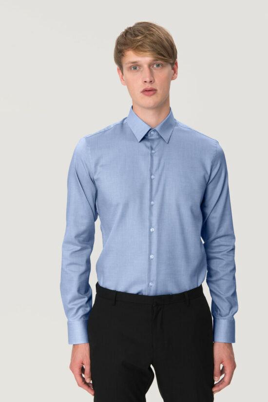 HAKRO Hemd Oxford Comfort