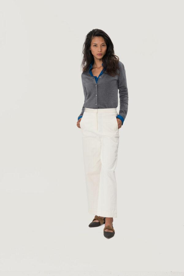 HAKRO Damen Cardigan Merino-Wool