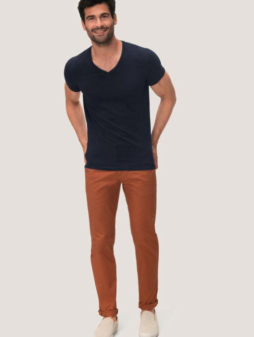 HAKRO V-Shirt Stretch