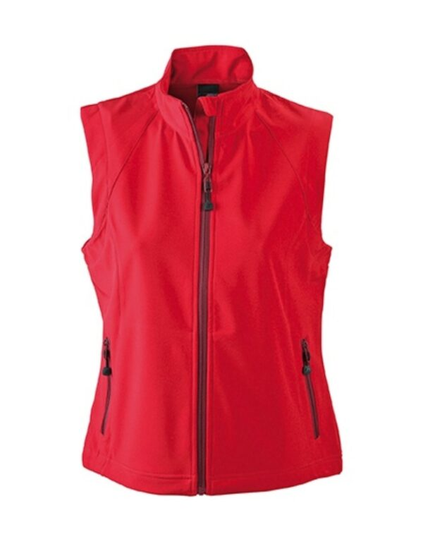 Ladies` Softshell Vest