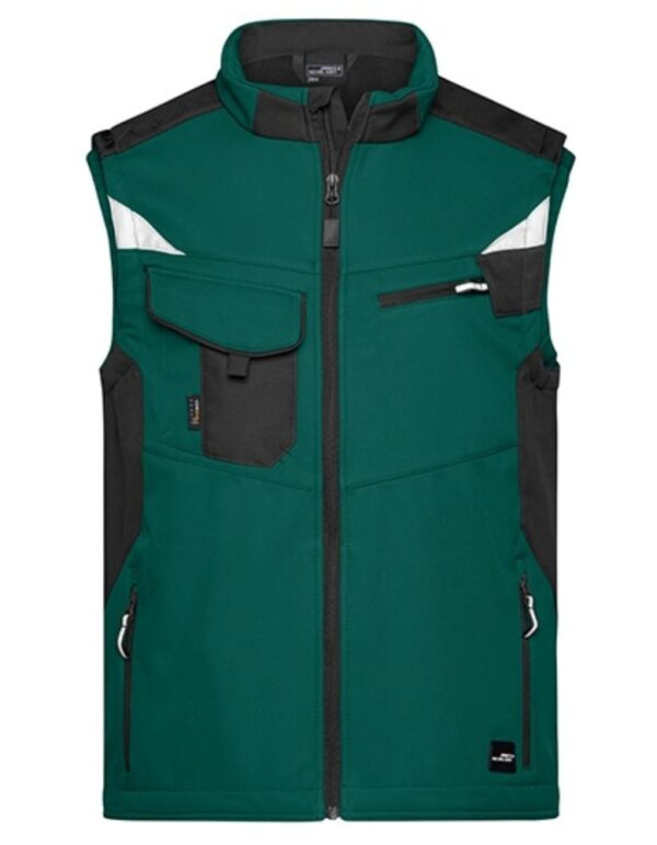 Workwear Softshell Vest -STRONG-
