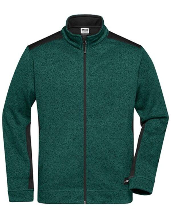 Men's Knitted Workwear Fleece Jacket -STRONG-