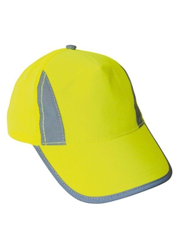 Premium High Visibility Cap for Kids