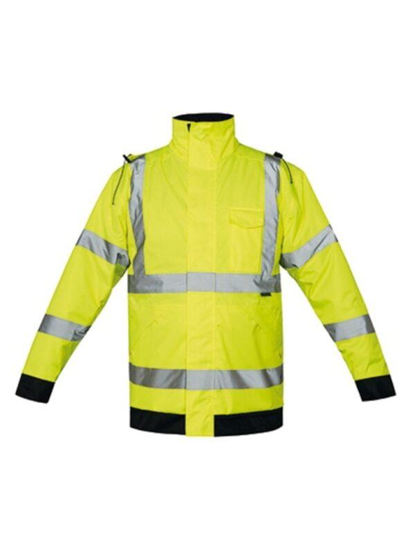 Premium Hi-Viz Rain-Jacket