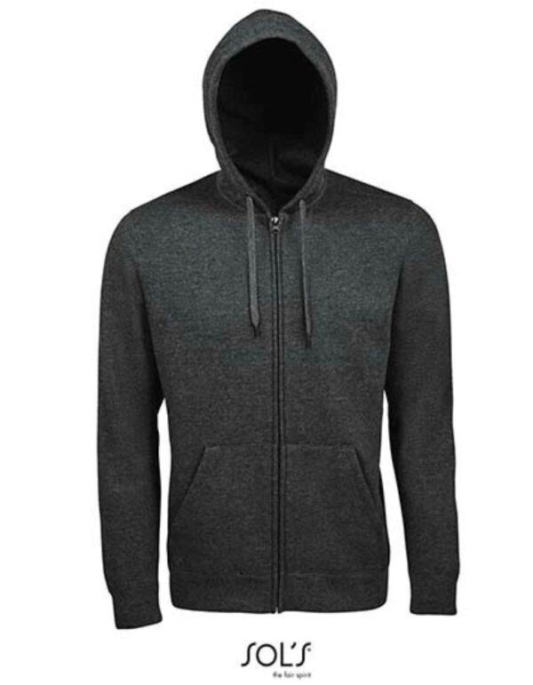 Men Hooded Zipped Jacket Seven