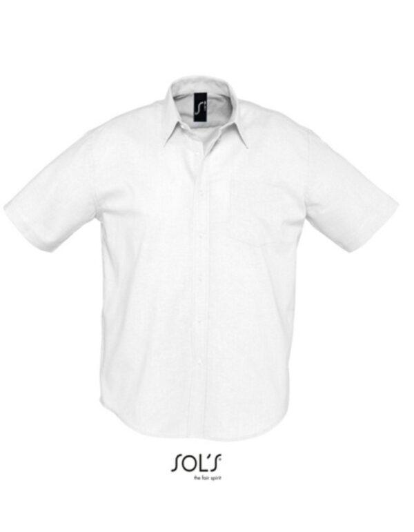 Men`s Oxford-Shirt Brisbane Shortsleeve