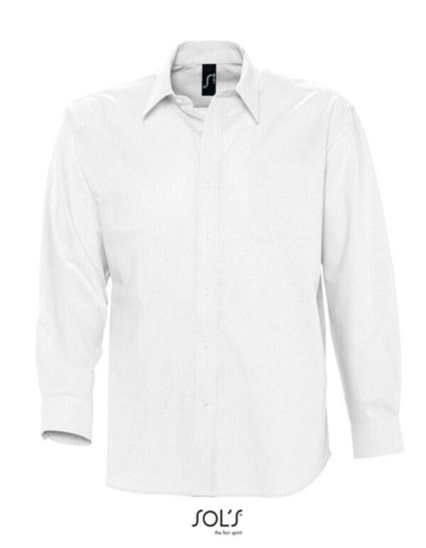 Men`s Oxford-Shirt Boston Longsleeve