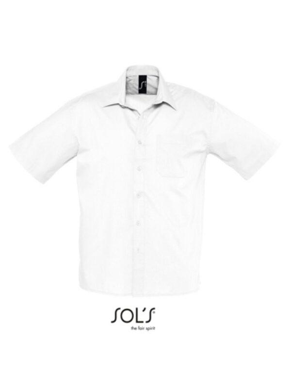 Popeline-Shirt Bristol Shortsleeve